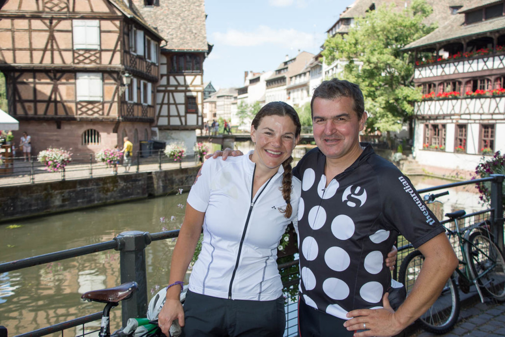 Emily CP and Jeremy CP in Strasbourg