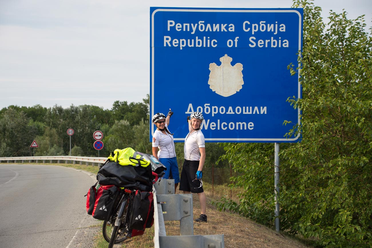 Serbia border crossing