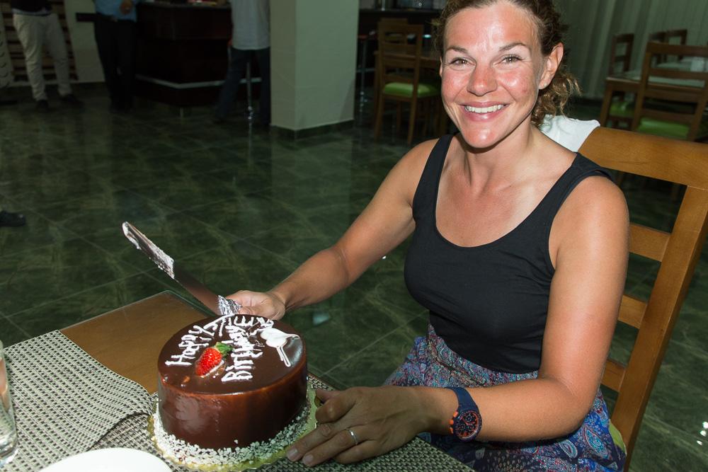 Celebrating my birthday in Madaba!