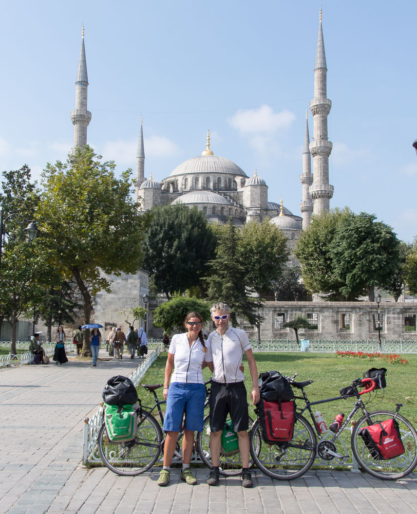 cycling into Istanbul