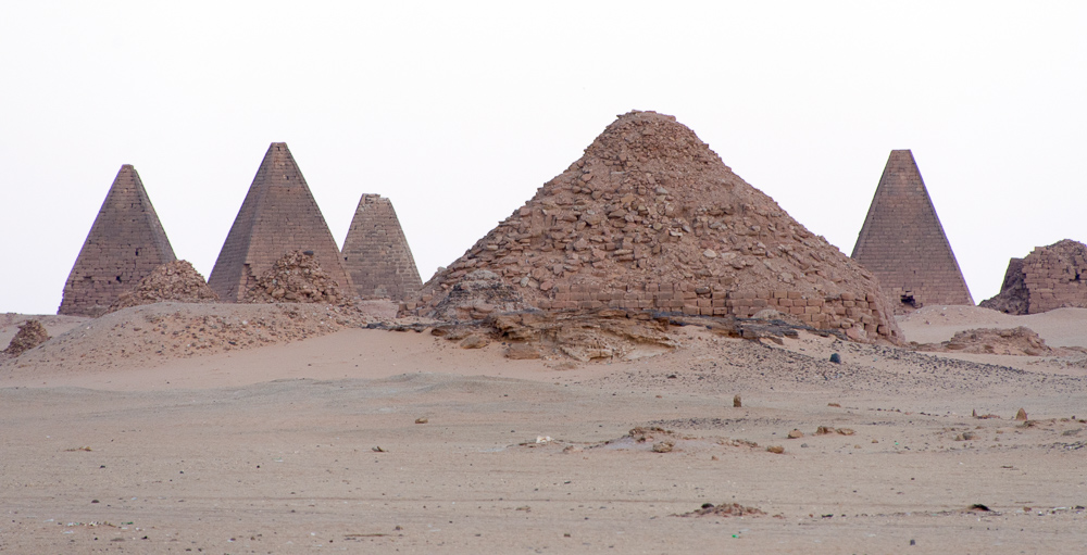 The pyramids at Jebel Barkal, Karima