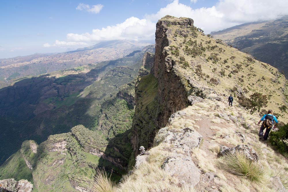 Trekking the Simien mountains: The World's best ridge walk?