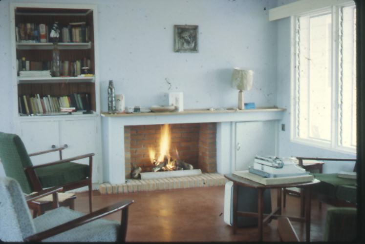 My parents' living room in the 1960s
