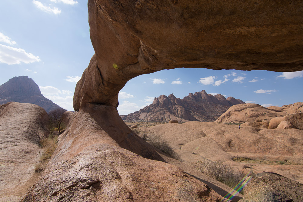 Rock arch at Spitzkoppe