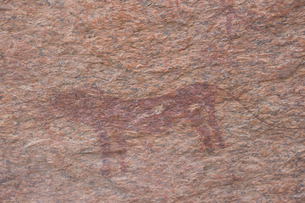 Spitzkoppe cave paintings