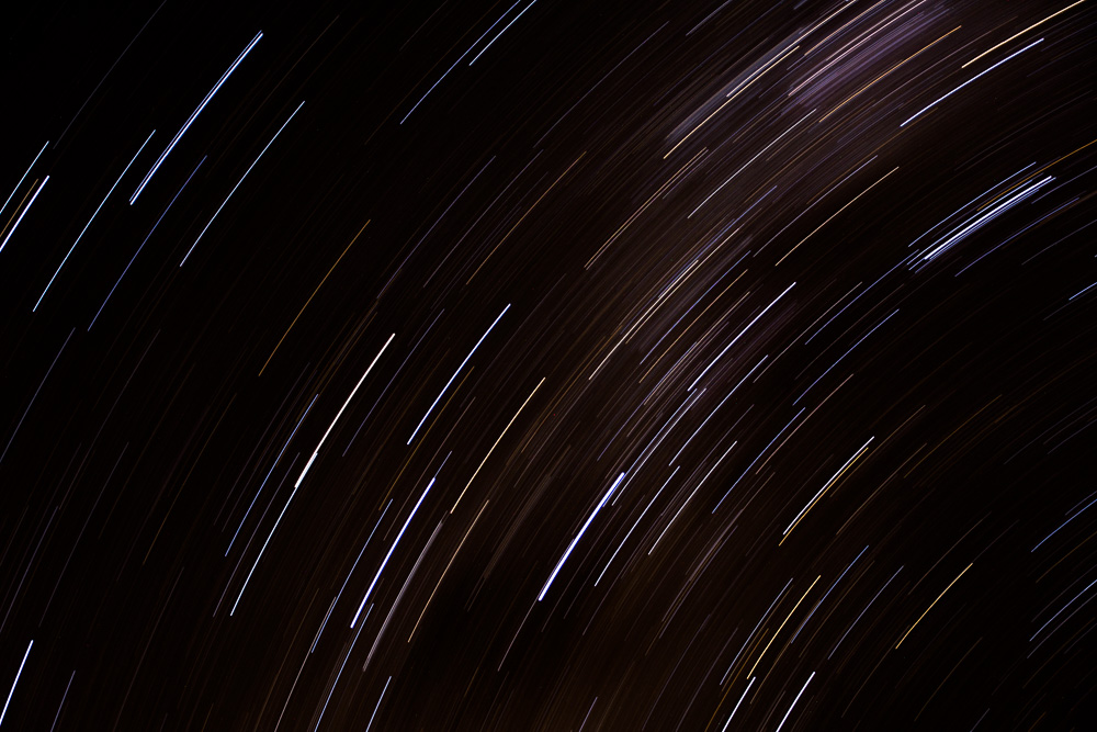 Star trails at Spitzkoppe