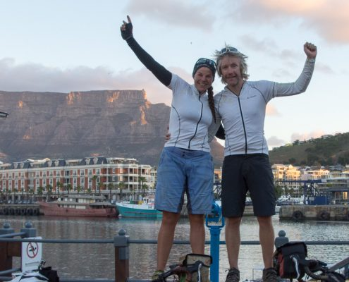 London to Cape Town by bike Table Mountain-7847
