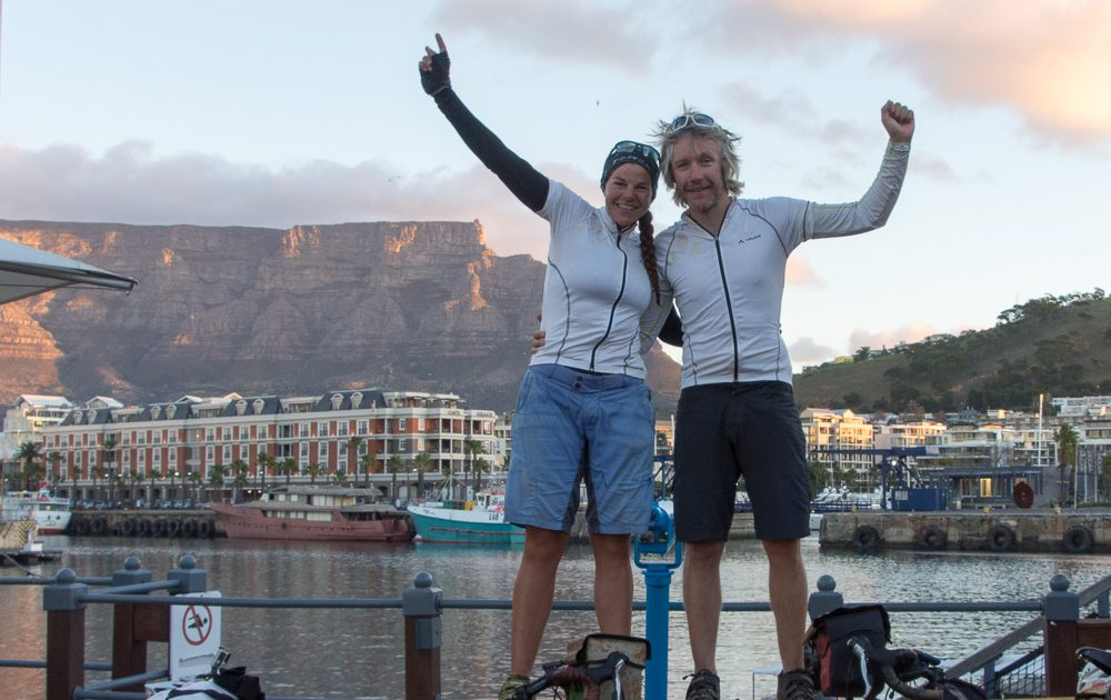 London to Cape Town bike