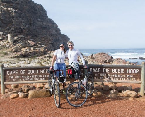We made the post-finale ride to the Cape of Good Hope
